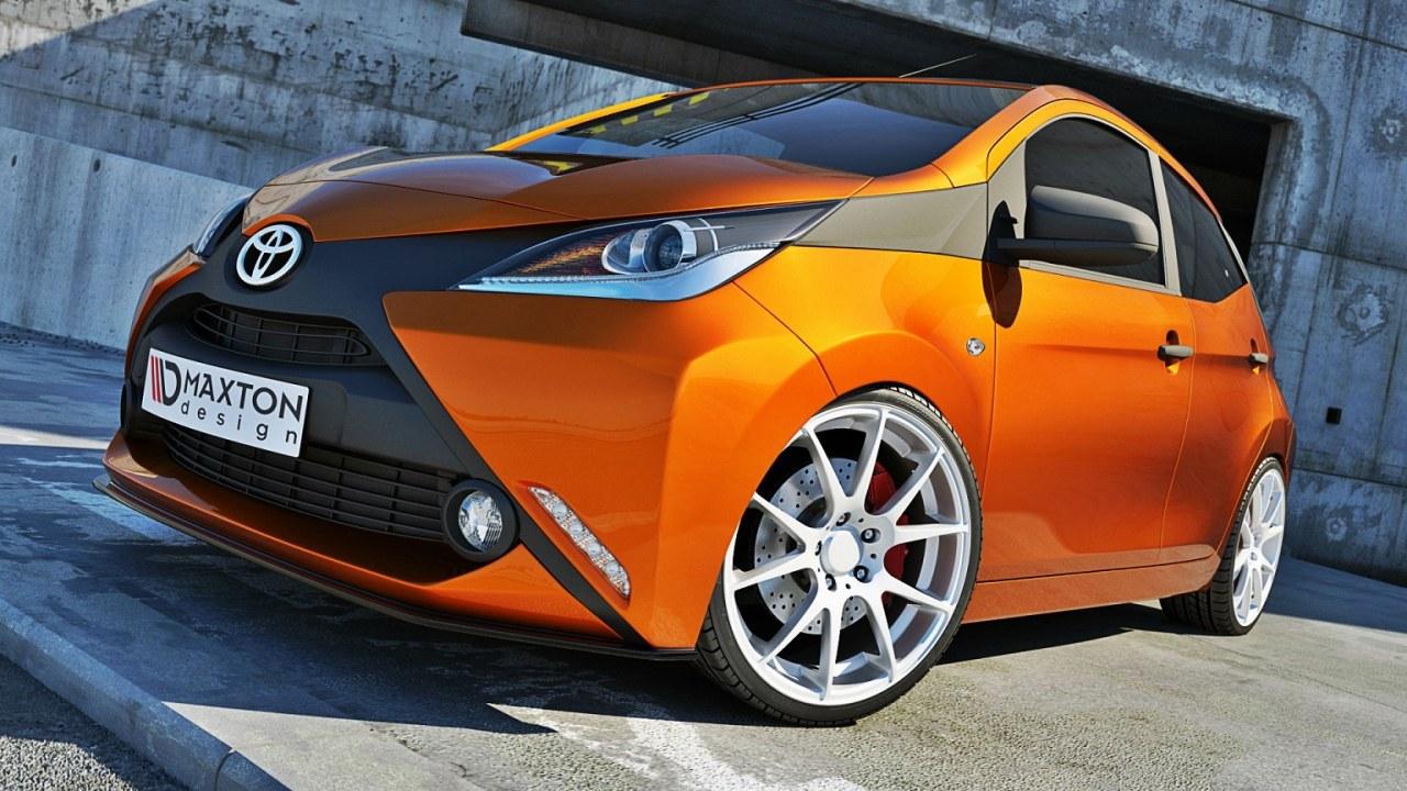 Splitter Przedni Toyota Aygo MK2 - GRUBYGARAGE - Sklep Tuningowy
